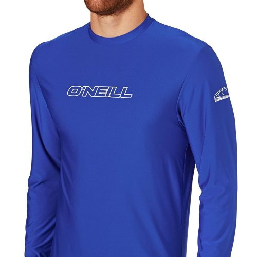 O'NEILL MENS RASH T SHIRT.SKINS UPF50+ LONG SLEEVED RASH GUARD TOP 7S/4339/018